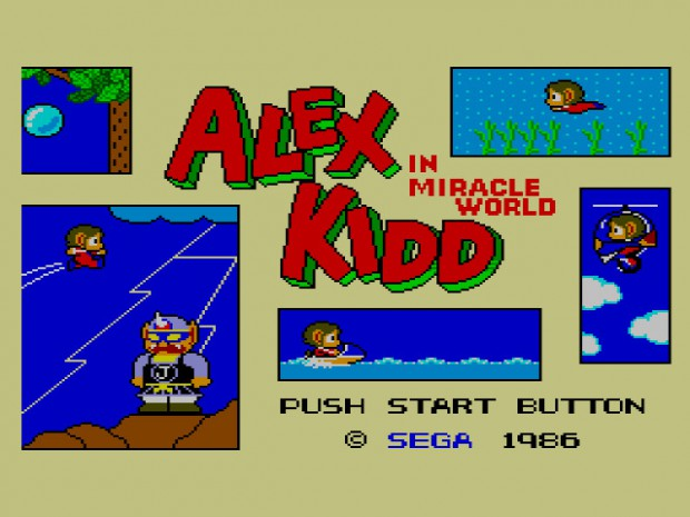 Alec Kidd in Miracle World