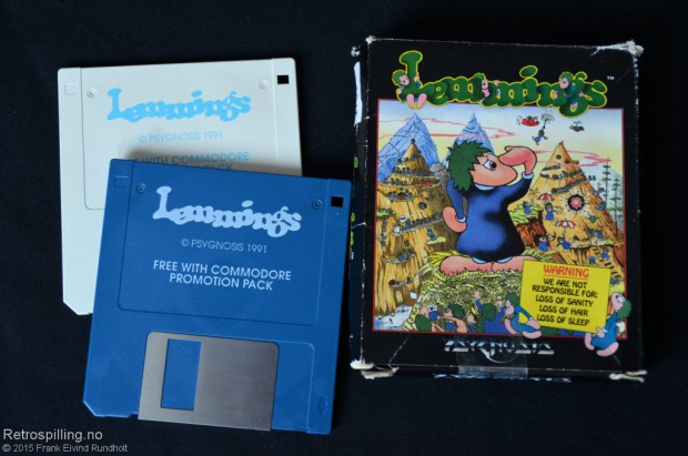 Lemmings (Amiga, 1991)