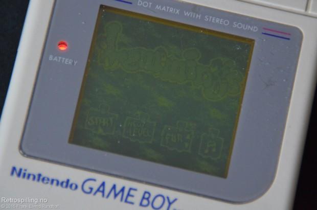 Lemmings (Nintendo Game Boy, 1993)