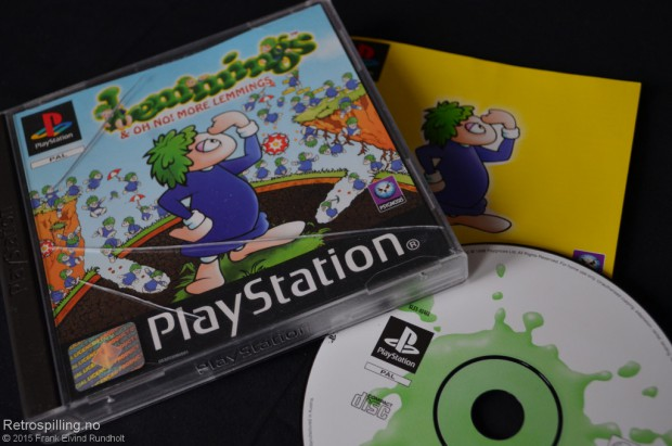 Lemmings & Oh no! More Lemmings (Playstation, 1998)