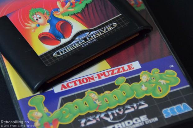 Lemmings (Sega Mega Drive, 1992)