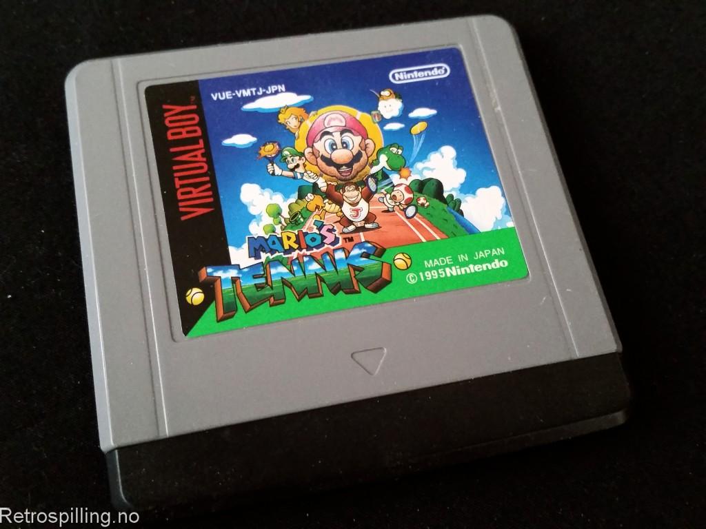 Mario's Tennis (Virtual Boy, 1995)