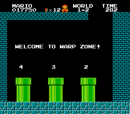 Super Mario Bros (Famicom/NES, 1987)