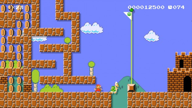 Super Mario Maker: Mini maze