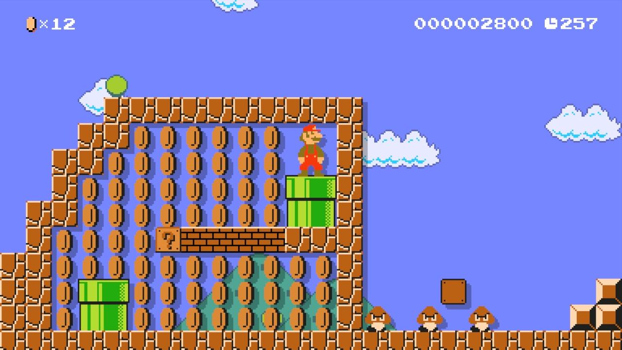 Super Mario Maker: Pipe me!