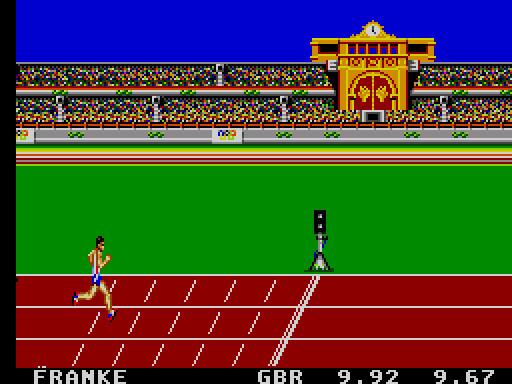 Olympic Gold (Sega Master System, 1992)