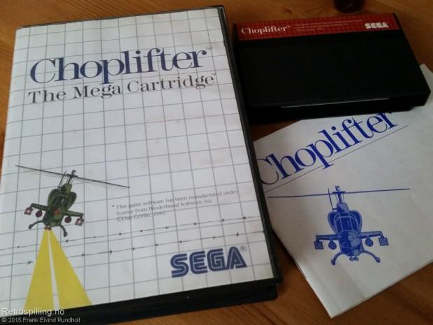 Choplifter (Sega Master System, 1986)