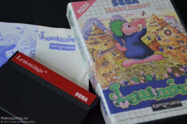Lemmings (Sega Master System, 1992)