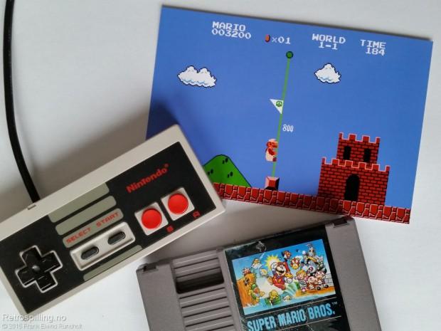 Super Mario Bros. (NES) continue triks