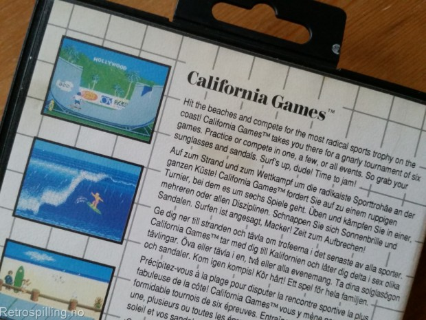 Retropåske 2015 - California Games