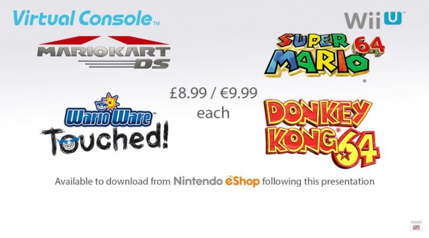 N64 & Nintendo DS på Wii U Virtual Console