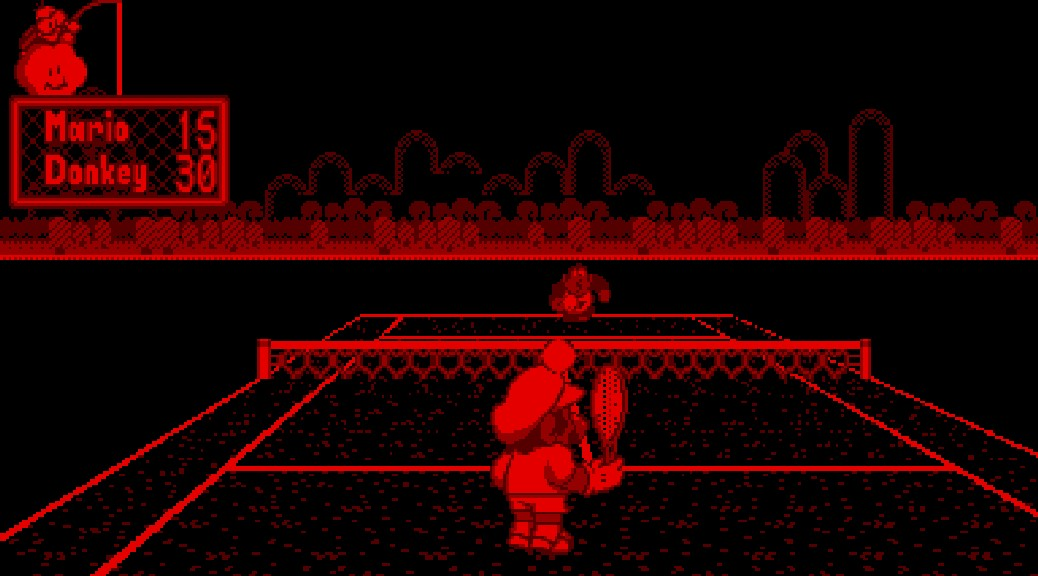 Mario's Tennis (Virtual Boy, 1995)