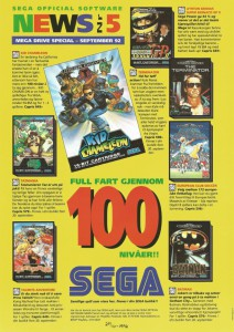 SEGA Official Software News nr. 5 – 1992