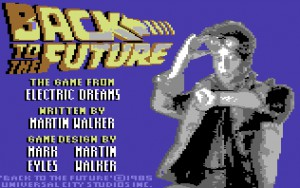 Back to the Future (C64, 1986)
