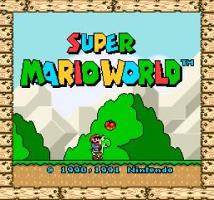 Super Mario World (SNES, 1990-1992)