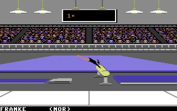 Summer Games (Commodore 64, 1984)