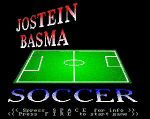 Jostein Basma Soccer - tittelskjerm