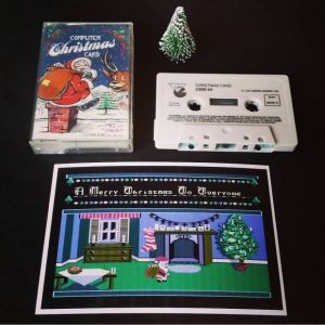 Computer Christmas Card (Commodore 64)