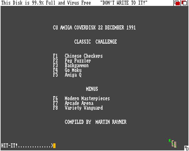 CU Amiga coverdisk 22