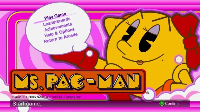 Ms. Pac-Man (arcade, 1984 - Xbox 360, 2007)
