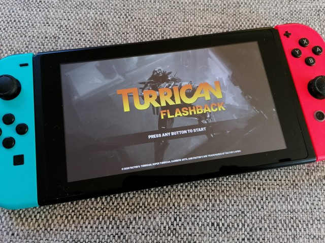 Turrican Flashback