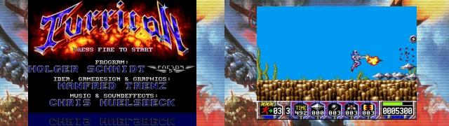 Turrican Flashback - Turrican (Amiga, 1990)