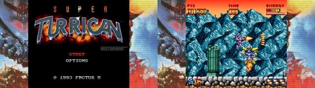 Turrican Flashback - Super Turrican (SNES, 1993)