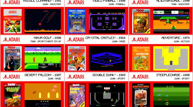 Evercade 1 - Atari Collection 1