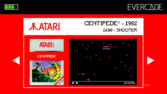 Evercade 1 - Atari Collection - Centipedeon 1: