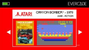 Evercade 1 - Atari Collection 1 - Canyon Bomber