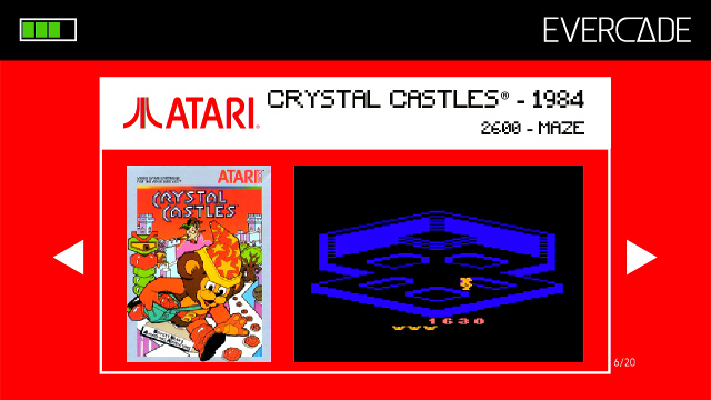 Evercade 1 - Atari Collection 1 - Crystal Castles
