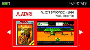 Evercade 1 - Atari Collection 1 - Alien Brigade