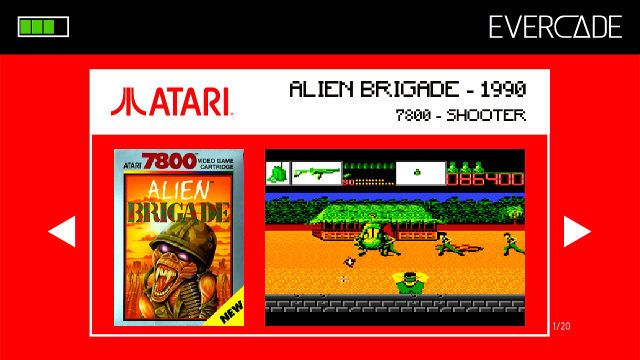Evercade 1 - Atari Collection 1 - Alien Brigade