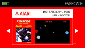 Evercade 1 - Atari Collection 1 - Asteroids