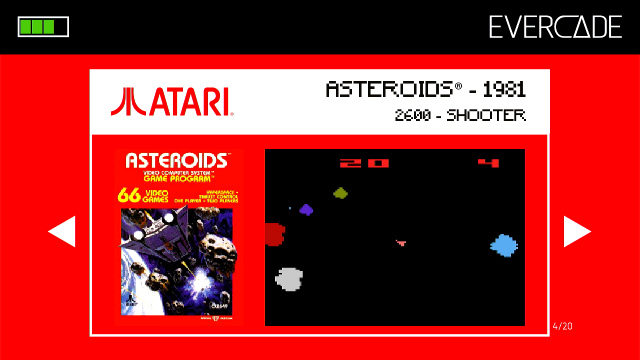Evercade 1 - Atari Collection 1 - Asteroids