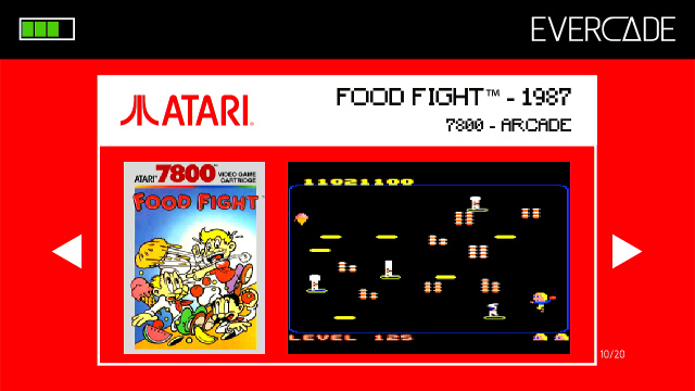 Evercade 1 - Atari Collection 1 - Food Fight