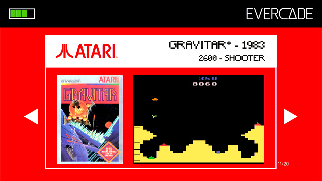 Evercade 1 - Atari Collection 1 - Gravitar