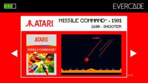 Evercade 1 - Atari Collection 1 - Missile Command