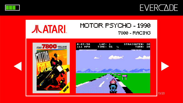 Evercade 1 - Atari Collection 1 - Motor Psycho