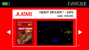 Evercade 1 - Atari Collection 1 - Night Driver