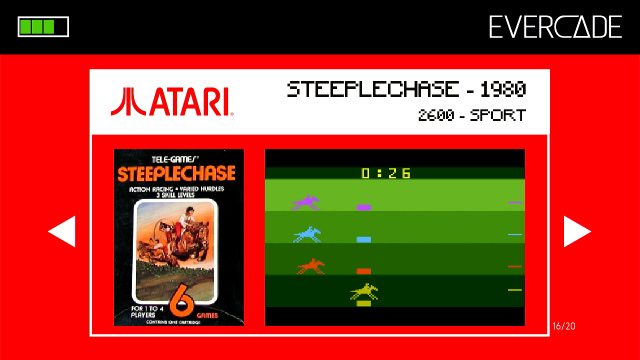 Evercade 1 - Atari Collection 1 - Steeplechase