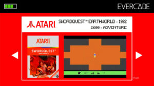 Evercade 1 - Atari Collection 1 - Swordquest Earthworld