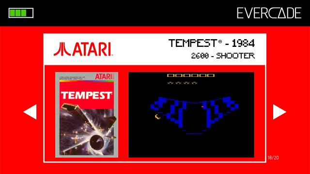 Evercade 1 - Atari Collection 1 - Tempest