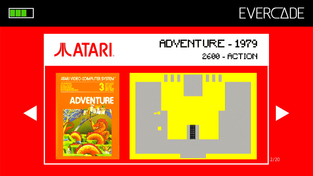 Evercade 1 - Atari Collection 1 - Adventure
