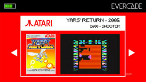 Evercade 1 - Atari Collection 1 - Yars' Return