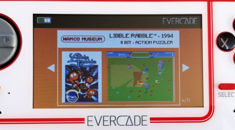 Evercade 02 - Namco Museum Collection 1