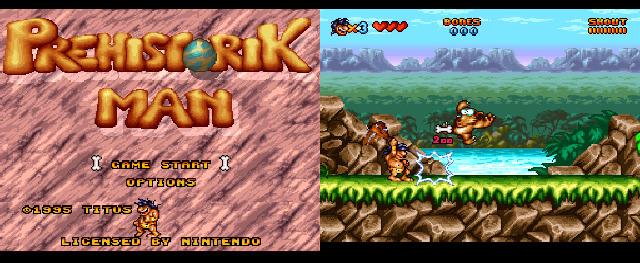 Prehsitorik Man (SNES, 1995)