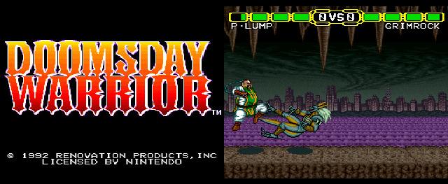 Doomsday Warrior (SNES, 1992)