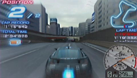 PSP demo disc vol. 1 - Ridge Racer