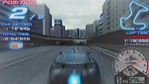 PSP demo disc vol. 1 - Ridge Racer